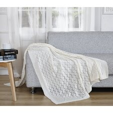 Light Weight Knitted Throw Blanket