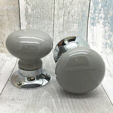 Plain Door Knob (Set of 2)