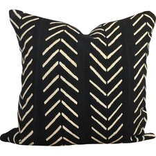 Chevron Arrow Print African Mud Cloth Pillow Cover