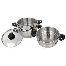Supreme 3-Piece Steamer Pot Set