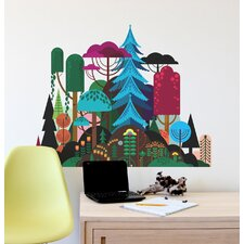 Imaginary Forest Wall Decal