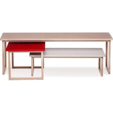 Tavolini 3 Piece Coffee Table Set