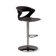 Height Adjustable Kreature Pedestal Base Stool