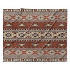 Navajo Fleece Throw Blanket