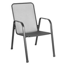 Verona Stack Mesh Dining Arm Chair (Set of 4)