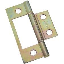 Nonmortise Bi-Fold Door Hinge