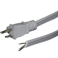 6' Flat Appliance Power Cord