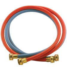 6' EDMP Rubber Washing Machine Hoses (Set of 2)
