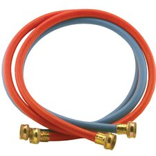 4' EDPM Rubber Washing Machine Hoses (Set of 2)