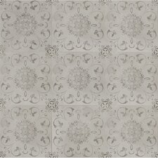 "Concrete Loft Deco 24"" x 24""  Porcelain Field Tile in Light Gray"