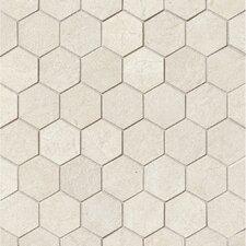 """El Dorado 2"""" x 2"""" Porcelain Hexagon Mosaic Tile in Shell"""