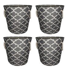 Laundry Organizer with Rope Handles (Set of 4)