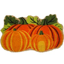 Harvest Pumpkins Doormat