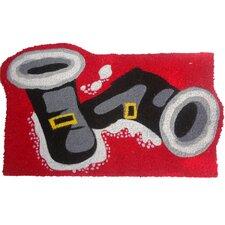 Santa Boots Doormat