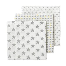 3 Piece Muslin Blanket Set