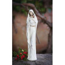 Mother Mary and Child Statuary Christmas Decoration