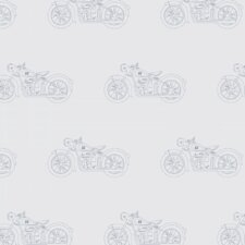 "Motorcycle 12' x 24"" Rolls Wallpaper"