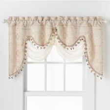 Portofino Jacquard Curtain Valance