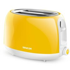 2 Slice Electric Toaster with 9 Toasting Intensity Levels