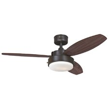 "42"" Alloy 3 Reversible Blade Ceiling Fan"