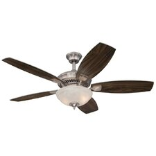 "52"" Tulsa 5 Blade Indoor Ceiling Fan"