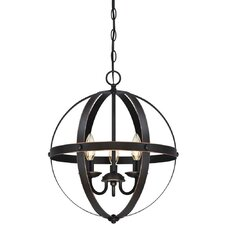 Stella Mira 3 Light Foyer Pendant