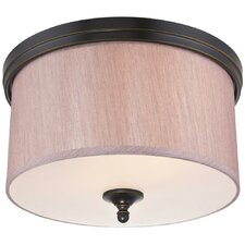 Packard 2 Light Flush Mount