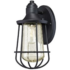 Elias 1 Light Outdoor Wall Lantern