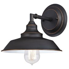 Iron Hill 1 Light Indoor Wall Fixture