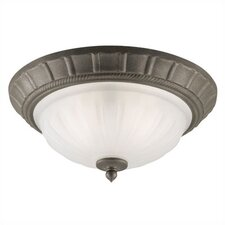 Flush Mount - Frosted Glass