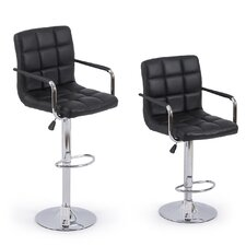 Modern 32'' Swivel Bar Stool (Set of 2)
