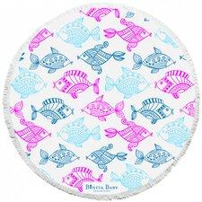 The Rainbow Fish Roundie Baby Beach Towel