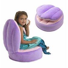 Plush Clamshell Kids Novelty Chair