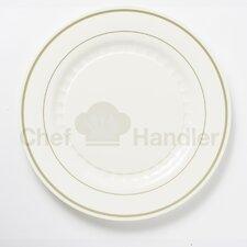 Mystique 440 Piece Elegant Plastic Plate Set