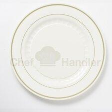 Mystique 340 Piece Fine Heavy Duty Plastic Plate Set