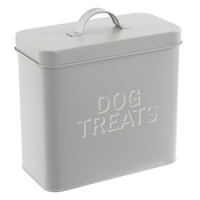 French Dog Treats Tin Canister