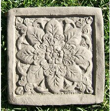 Square Rose Stepping Stone (Set of 3)