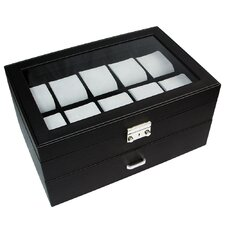Deluxe Display Watch Box