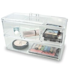 2 Layer Cosmetic and Jewelry Organizer