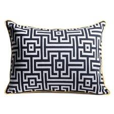 Frenzy Woven Lumbar Pillow
