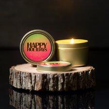 2 Piece Holiday Pine Jar Candle Set (Set of 2)
