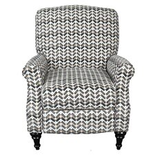 Noelle Zig Zag Push-back Recliner