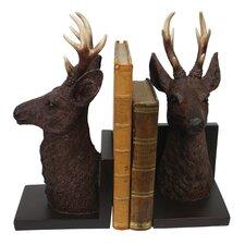Deer Head Book End (Set of 2)