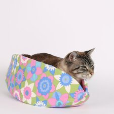 Flowers Cat Bed