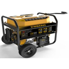 Performance Series 7125 Watt Portable Gasoline Generator with Wheel Kit