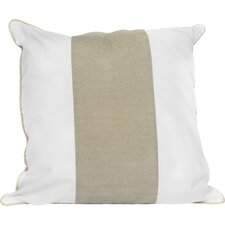 Solid Striped Throw Pillow