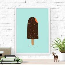 Colorful Ice Cream Paper Print