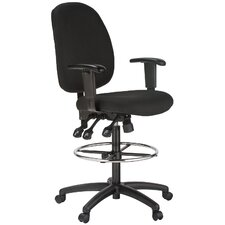 Height Adjustable Drafting Chair