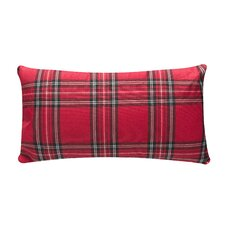 Cozy Plaid Lumbar Pillow (Set of 2)