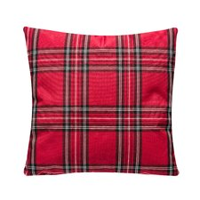 Cozy Plaid Throw Pillow (Set of 2)
